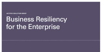 Business Resiliency for the Enterprise