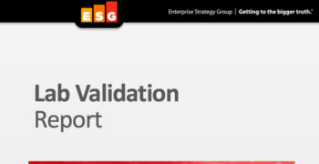 ESG Lab Validation Report: Actifio's Copy Data Storage Platform