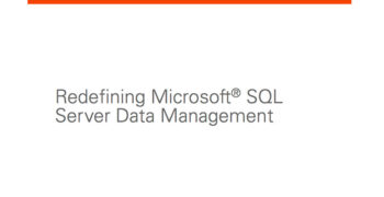 Redefining Microsoft SQL Server Data Management