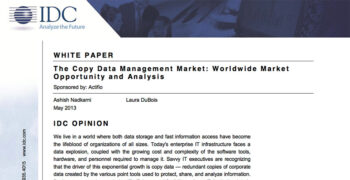 IDC White Paper: The Copy Data Management Market