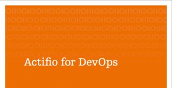 Actifio for DevOps