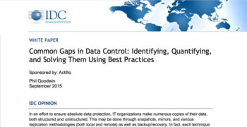 Common Gaps in Data Control