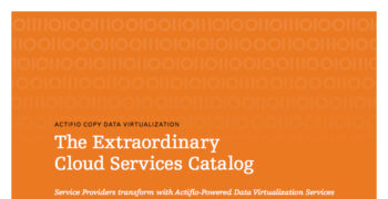 The Extraordinary Cloud Services Catalog