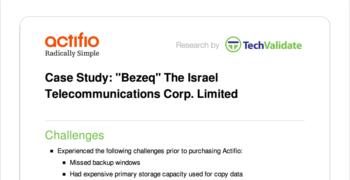 Bezeq Customer Brief