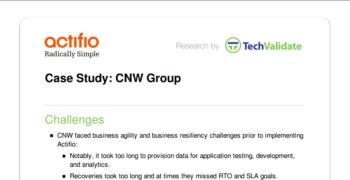 CNW Group Customer Brief