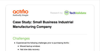 Small Business Industrial Manufacturing Company