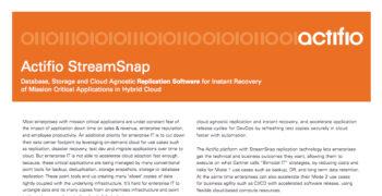 StreamSnap Data Sheet