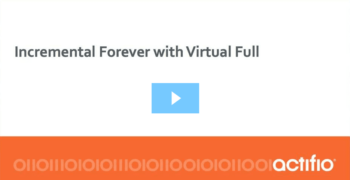 How Incremental-Forever and Point-In-Time Virtual Copies Work