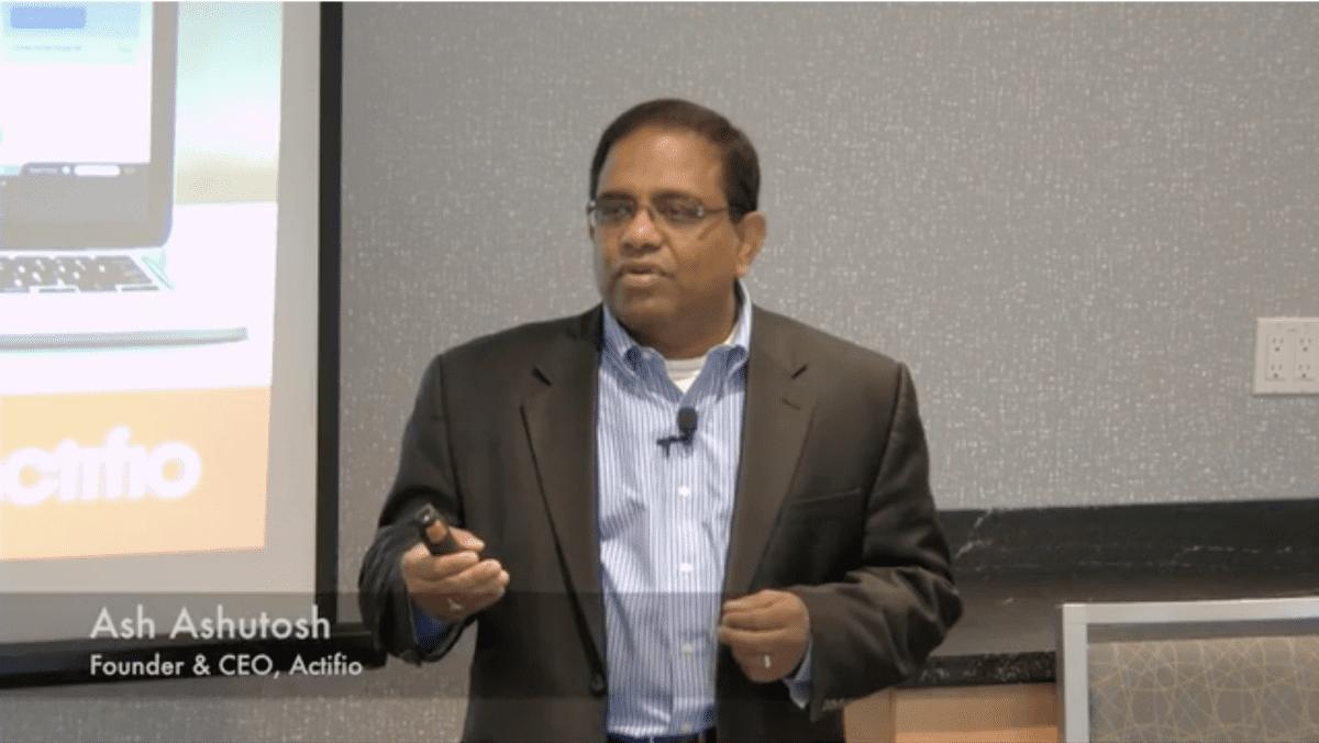 Ash Ashutosh tech field day 15