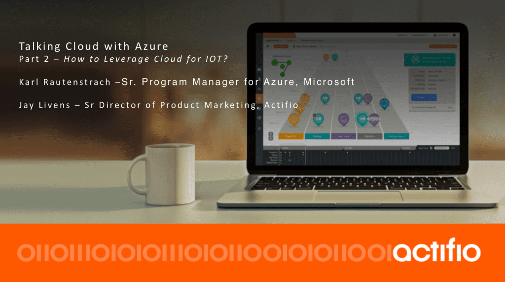 How to leverage cloud for IOT