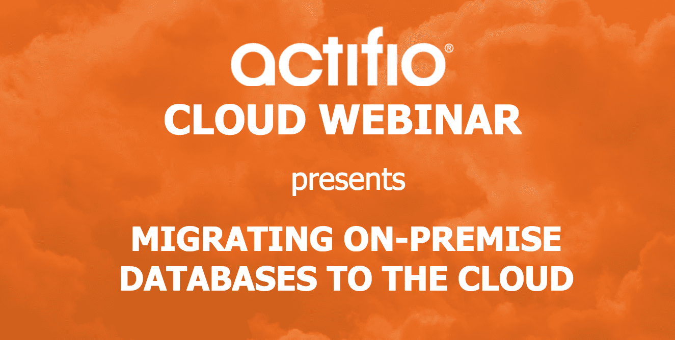 Migrating On-Premise Databases to the Cloud