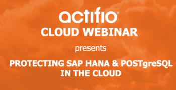 Webinar:  Protecting SAP HANA in the Cloud