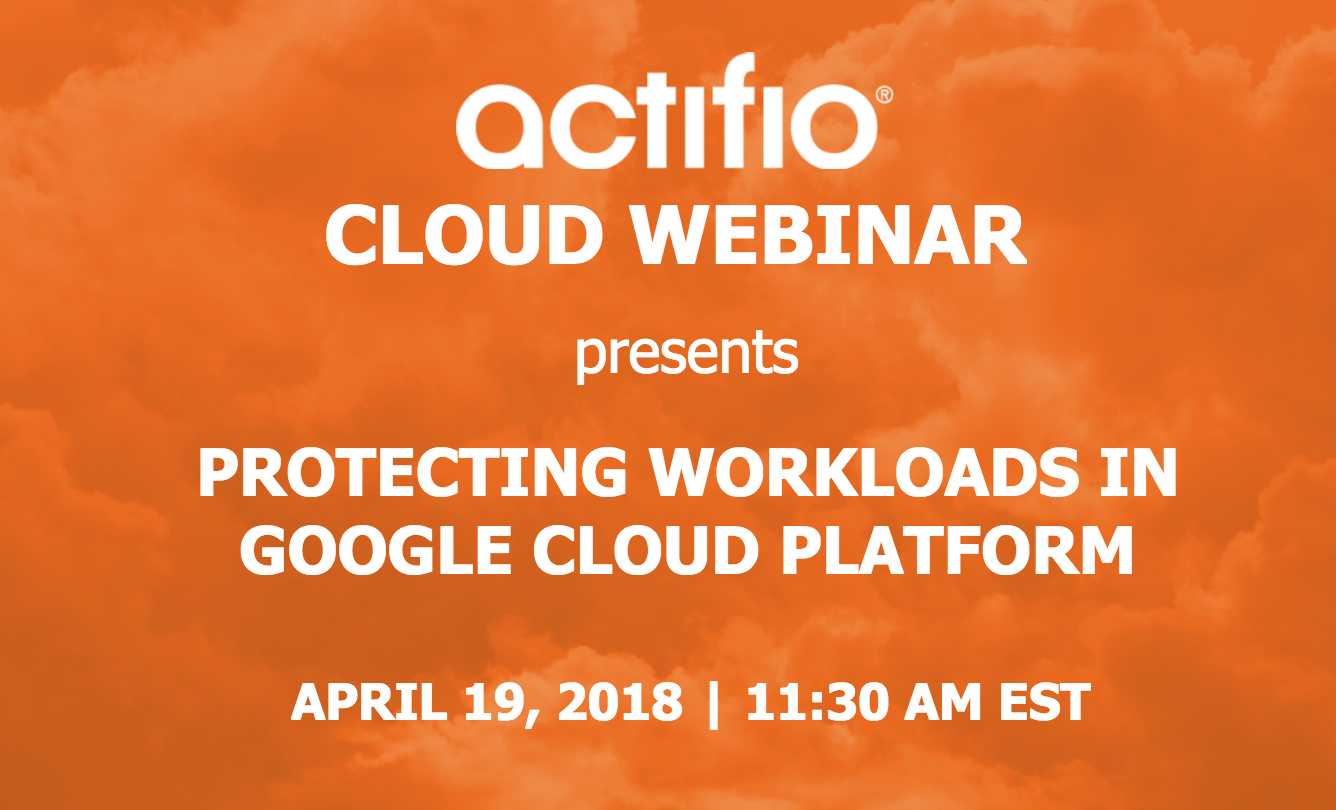 protecting workloads in google cloud