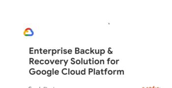 An Expert's View on Protecting Data in Google Cloud Platform – Webinar delivered with Google Cloud Platform team
