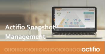 Actifio Snapshot Management
