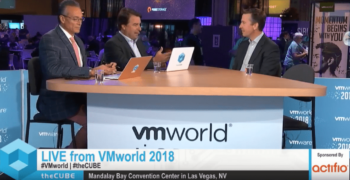 Brian Reagan Live on TheCube at VMworld 2018, Las Vegas