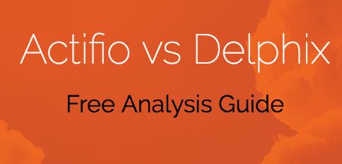 Actifio vs Delphix