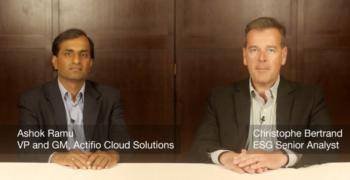 ESG Video – Talking Actifio Cloud Solutions with Ashok Ramu