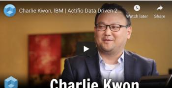 theCUBE – Charlie Kwon, IBM at Actifio Data Driven 2019