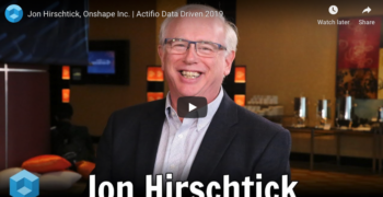 theCUBE with Jon Hirschtick, Onshape Inc. from Data Driven 2019