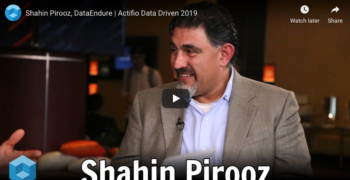 theCUBE – Shahin Pirooz, DataEndure | Actifio Data Driven 2019