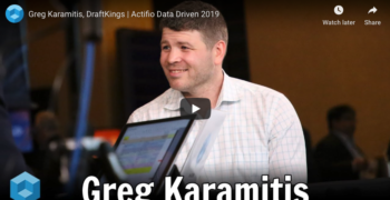 theCUBE – Greg Karamitis, DraftKings at Actifio Data Driven 2019