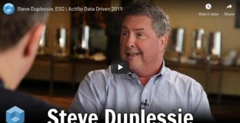 theCUBE – Steve Duplessie, ESG at Actifio Data Driven 2019