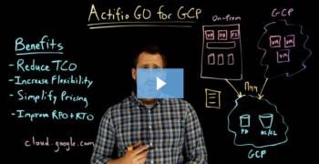 Actifio GO for GCP