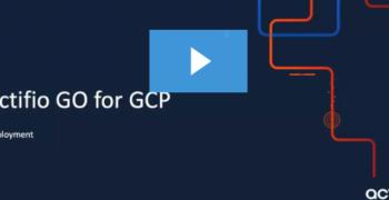 Actifio GO for GCP Deployment