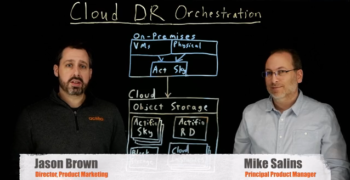 1-Click Cloud Disaster Recovery Orchestration