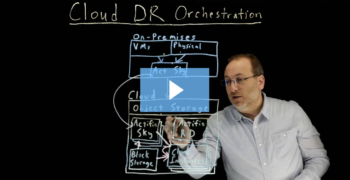 1 Click Cloud Disaster Recovery Orchestration: How It Works