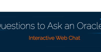 Webcast – Top Questions to Ask an Oracle Expert