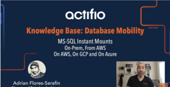 Demo – MS SQL Instant Mounts On Prem, from AWS, On AWS, and on Azure