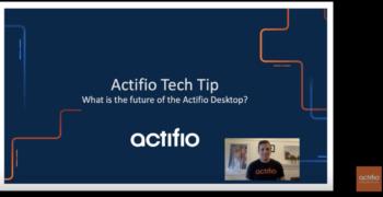 The Future of the Actifio Desktop