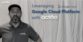 Leveraging Google Cloud Platform with Actifio (in 120 seconds)