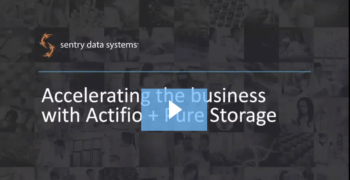 Real time COVID analysis – How Sentry Data is able to make an impact with Actifio and Pure Storage